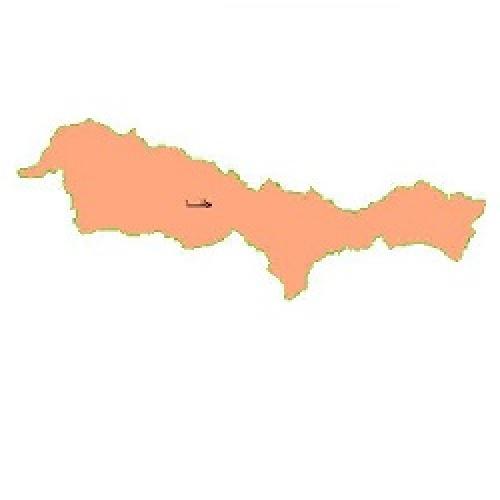 شیپ فایل محدوده سیاسی شهرستان جلفا (واقع در استان آذربایجان شرقی)