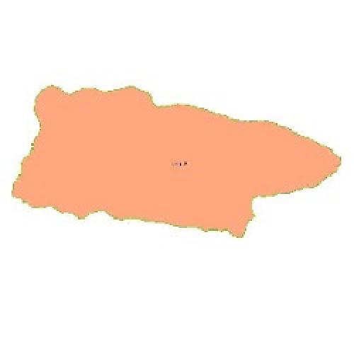 شیپ فایل محدوده سیاسی شهرستان هریس (واقع در استان آذربایجان شرقی)