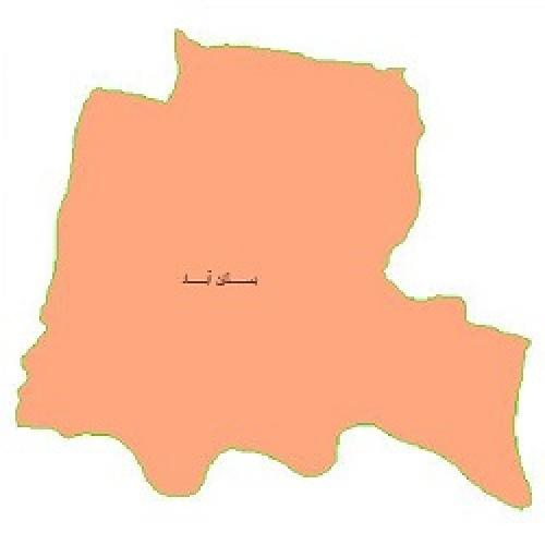 شیپ فایل محدوده سیاسی شهرستان بستان آباد (واقع در استان آذربایجان شرقی)