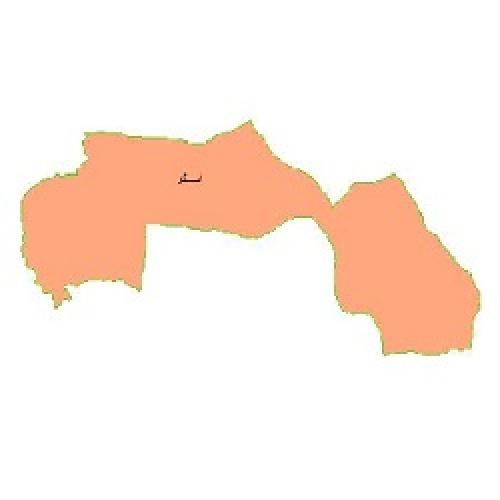 شیپ فایل محدوده سیاسی شهرستان اسکو (واقع در استان آذربایجان شرقی)