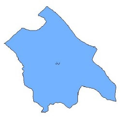 شیپ فایل محدوده سیاسی شهرستان اردل (واقع در استان چهارمحال و بختیاری)