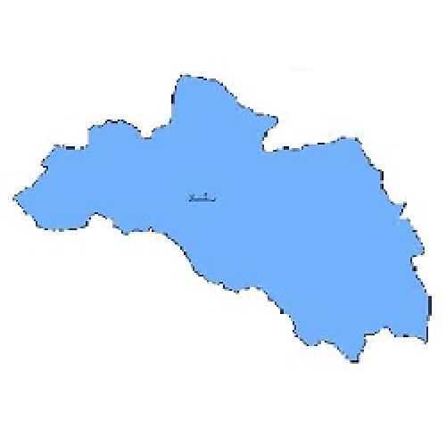 شیپ فایل محدوده سیاسی شهرستان لردگان (واقع در استان چهارمحال و بختیاری)