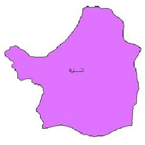 شیپ فایل محدوده سیاسی شهرستان اشنویه (واقع در استان آذربایجان غربی)