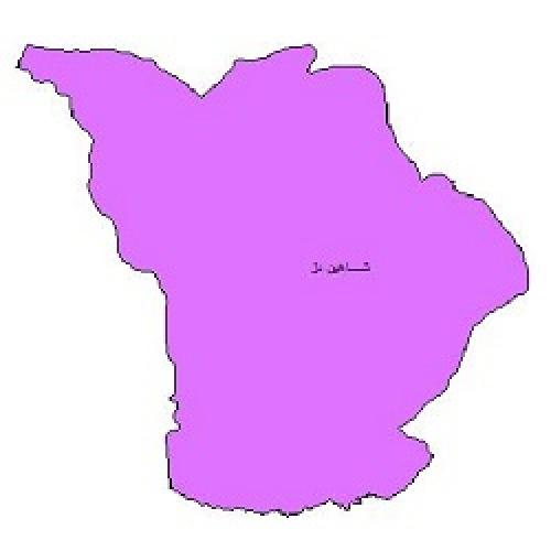 شیپ فایل محدوده سیاسی شهرستان شاهین دژ (واقع در استان آذربایجان غربی)